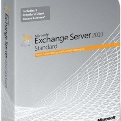 Serwer  Exchange Svr 2010 x64 English AE DVD 5 Clt