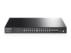 Switch  TP-Link T2700G-28TQ Managed L3 Gbit Switch, 24x 10/100/1000 +4x combo +10G SFP+