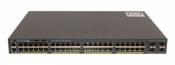 Switch Cisco Catalyst 2960-X 48 GigE PoE 740W, 2 x 10G SFP+, LAN Base
