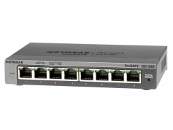 Switch  Netgear ProSafe Plus 8-Port Gigabit Desktop Metal (GS108E v3)