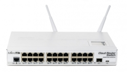 Switch MikroTik CRS112-8P-4S-IN L5 8xGig LAN, 4xSFP, 802.3af/at PoE/PoE+/Passive PoE