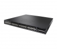 Cisco Catalyst 3650 48 Port PoE, 640W AC PS, 2x10G Uplink, LAN Base