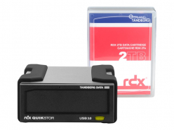 Napęd Tandberg RDX External drive kit with 2TB, black, USB3+ (inc. Windows Backup)