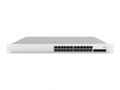 Switch Cisco Meraki MS210-24P 1G L2 Cld-Mngd 24x GigE 370W PoE Switch
