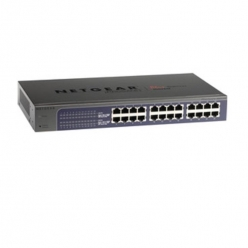 Switch  Netgear ProSafe Plus 24-Port Gigabit Rack (JGS524E v2)