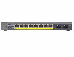 Switch  Netgear ProSafe Smart 10-Port Gigabit 8xPoE, 2xSFP (GS110TP v2)