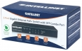 Switch Intellinet Gigabit 5x 10/100/1000 Mbps RJ45 PoE/PoE+ 80W 1x SFP combo