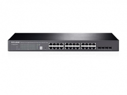Switch  TP-Link T1700G-28TQ JetStream 24-Port Gigabit Stack Smart + 4 10GE SFP+