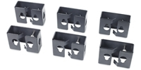 APC Cable Containment Brackets w/PDU Mounting Capability for NetShelter SX