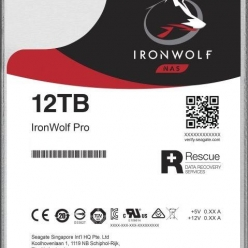 Dysk serwerowy Seagate IronWolfPro, 3.5'', 12TB, SATA/600, 7200RPM, 256MB cache