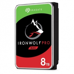 Dysk serwerowy Seagate IronWolfPro, 3.5'', 8TB, SATA/600, 7200RPM, 256MB cache