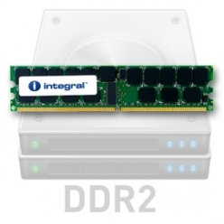 Pamięć serwerowa   Integral 4GB DDR2-667 ECC DIMM  CL5 R2 REGISTERED  1.8V